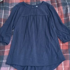 Old Navy blue Blouse!!